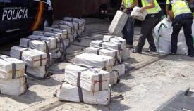 Imagen de una aprehensión de droga en el Campo de Gibraltar