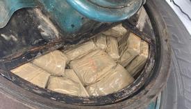 Intervenidos en el Puerto de Algeciras más de 53 kilos de hachís en un remolque