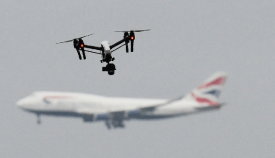 Drones en Gatwick
