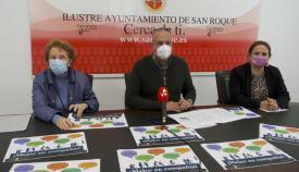 Presentación del programa en el Ayuntamiento de San Roque. Foto Multimedia