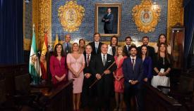 """Landaluce llama al """"entusiasmo"""" en su toma de posesión como alcalde"""