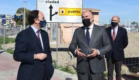 Puerto y Ayuntamiento, presentes en las obras del Corredor Verde
