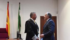 Landaluce agradece el servicio público prestado por Gutiérrez Luna