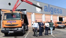 Algesa presenta una tanda de catorce nuevos vehículos