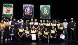 La Policía de Algeciras celebra la festividad de la Virgen de las Lágrimas
