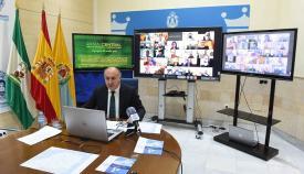 Landaluce se reunirá este viernes con el alcalde de Zaragoza