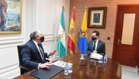 Moreno respalda el proyecto del Lago Marítimo y el Ramal Central