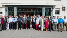 La Comandancia de Algeciras rinde homenaje a los Guardias Civiles Veteranos