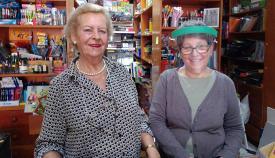 Mari Carmen Castillo y la trabajadora María Furné