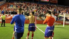 El Algeciras cierra temporada tras su derrota en Almendralejo