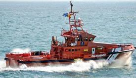 Embarcación de Salvamento Marítimo. Foto NG