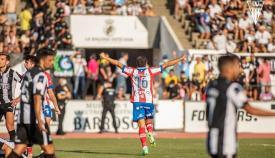 El Algeciras golea a la Balona (0-4) y asalta el Municipal de La Línea