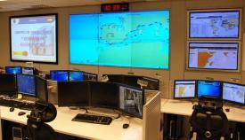 El Centro de Operaciones de Vigilancia y Acción Marítima (COVAM). Foto: Armada.