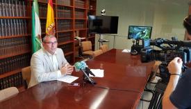 Miguel Andreu, en rueda de prensa