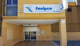 La sede de Emalgesa, la empresa municipal de Aguas de Algeciras