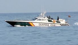 Embarcación del Servicio Marítimo de la Guardia Civil. Foto NG