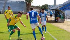 El Unión-Ceuta se jugará el domingo a las 12.30 horas en Los Cortijillos