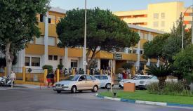 Entrada al Colegio 'San Felipe' de La Línea. Foto: lalínea.es