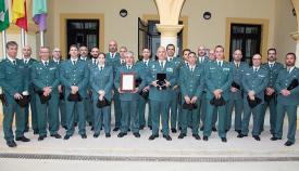 Efectivos de la Guardia Civil de Algeciras. Foto NG
