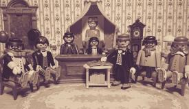 Una recreación de la exposición de Playmobil aplazada