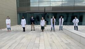 Equipo directivo del Área de Gestión Sanitaria Campo de Gibraltar Este