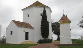 Imagen actual de la ermita de San Roque construida en 1801. Foto APG