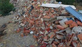 Imagen de los residuos denunciados por Verdemar