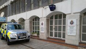 Estación central de Policía de Gibraltar