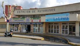 Estado actual de la Estación de Autobuses de La Línea