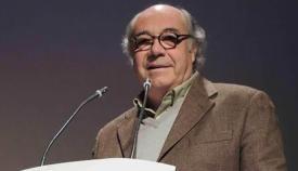 Esteban Gallego en un acto del Ficsan