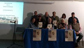 Los participantes en la presentación de la revista Estrechando