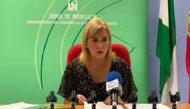 Eva Pajares, subdelegada de la Junta de Andalucía en el Campo de Gibraltar