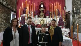 Adrián Carrillo ofrece la VI Exaltación Juvenil a Jesús de Medinaceli