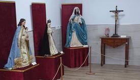 Algunas de las imágenes expuestas en la muestra. Foto: San Roque 100x100