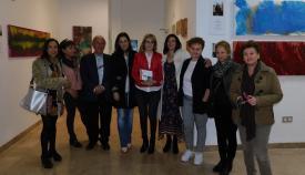 La exposición 'Mujeres presentes', inaugurada en el Centro Documental.