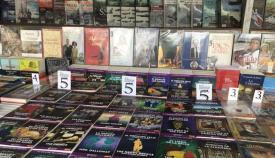 Expositor de libros en Algeciras