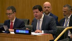 Fabian Picardo en el C24 de la ONU