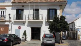 Entrada a la sede de Urbanismo en San Roque