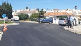 La entrada a Pueblo Nuevo se ha asfaltado. Foto: Multimedia