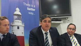 El parlamentario Daniel Feetham. Foto NG