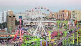 Atracciones de la Feria Real de Algeciras. Foto: NG