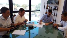 La firma del contrato se ha producido este martes