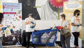 Márgenes y Vínculos ha recaudado más de 3.500 kilos de alimentos