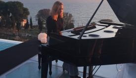 La algecireña Brisa Fenoy, al piano. Foto: NG