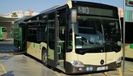 Un autobús del Consorcio del Campo de Gibraltar