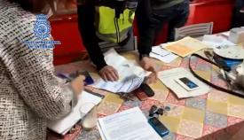 Un momento de la operación realizada por la Policía Nacional. Foto: NG