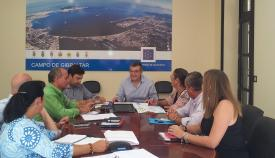 Imagen de una reunión del gobierno de la Mancomunidad