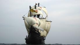 La Nao Victoria llega a Algeciras del 16 al 19 de septiembre
