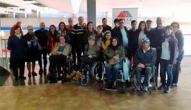 Los asistentes a la asamblea de ADEM-CG.