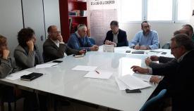 La reunión tuvo lugar en la sede del PSOE de La Línea